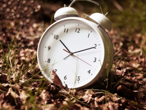 the clocks go back on 26th October this year