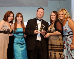 Cottages4you and Lucre receive the award for our Beachcombing Campaign