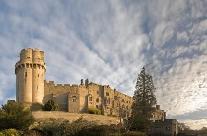 Warwick castle warwickshire midlands england uk.