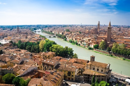 Verona and Adige River