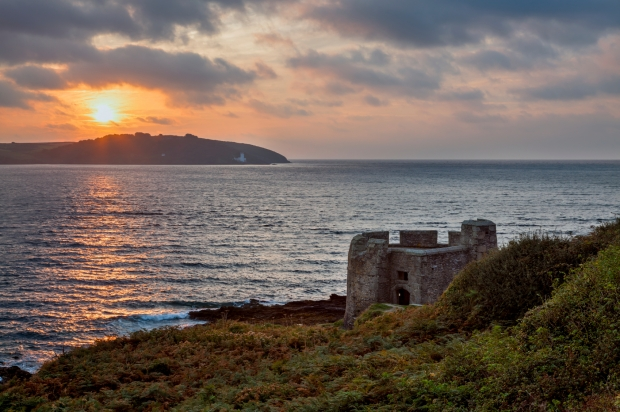 Sunrise at Pendennis Head