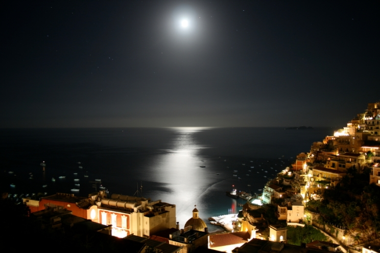 Night over Positano