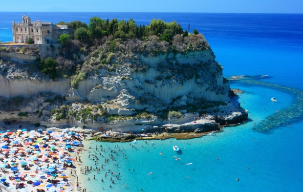 Tropea is one of Italy's most beloved seaside towns. Located on the west coast of the Calabrian peninsula it offers beautiful beaches and a lovely ambience.