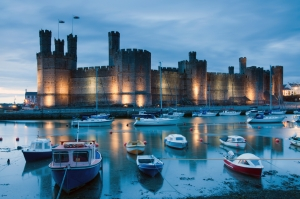 Caernarfon Castle: one of the most stunning castles in Europe