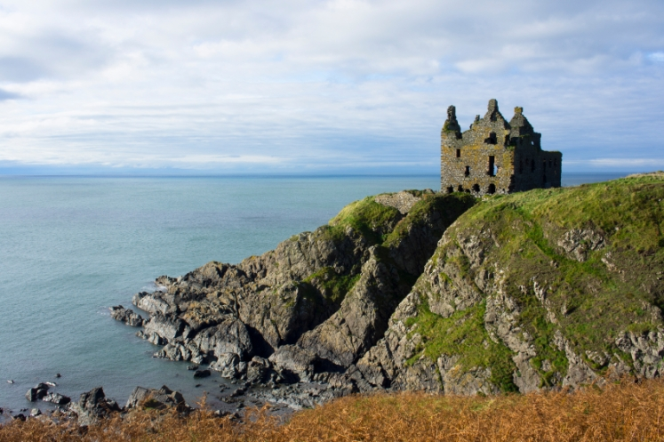 Dunskey Castle at Portpatrick