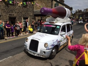 Most hailed cab in Yorkshire