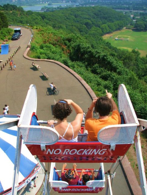 Ride a big wheel and share the view