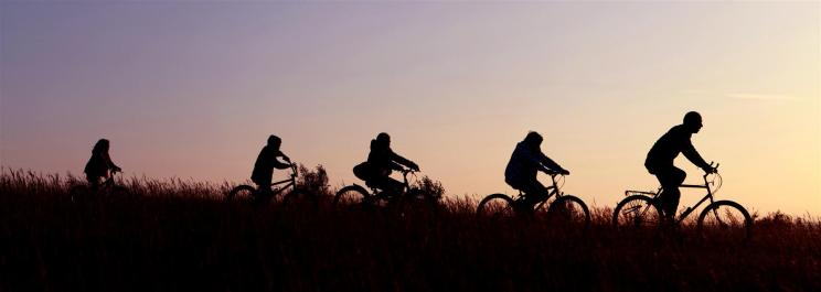 Take to the saddle – Go on a family bike ride together