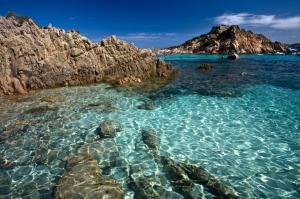 The sea at Sardinia