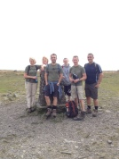 Top of Ingleborough, peak 3.
