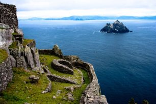A view of the Skellig Islands