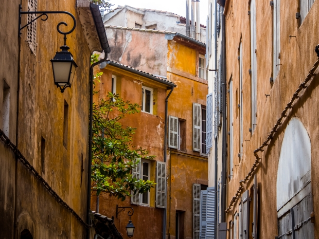 The Old Town of Aix-en-Provence