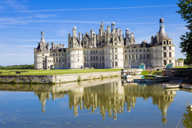 Chambord Chateau: one of the Loire