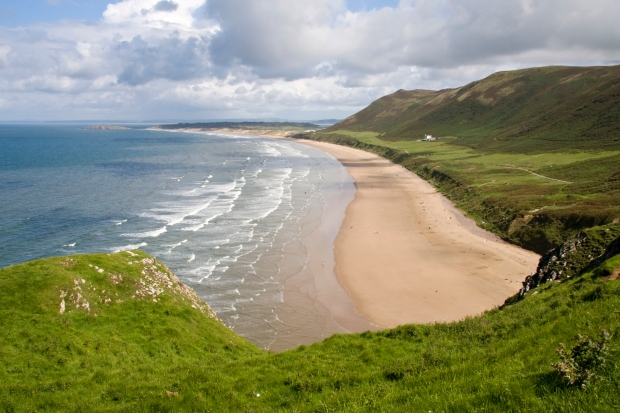 Rhossili Bay, Gower