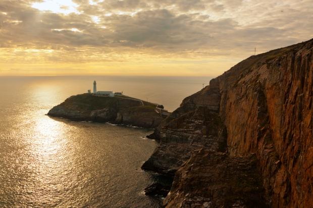 Holy Island, near Holyhead, Anglesey,