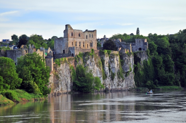 Chepstow Castle on the River Wye
