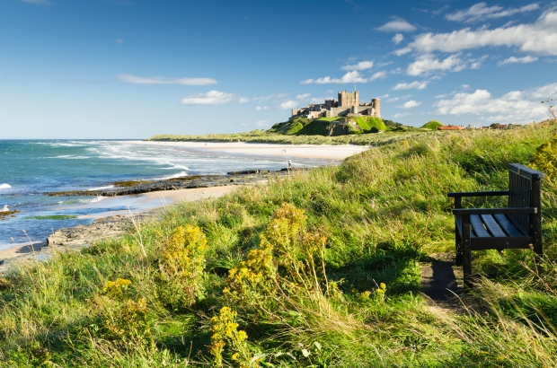 Bamburgh Castle and seat