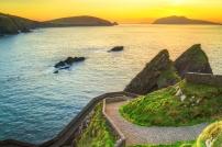 Sunset over Dingle Peninsula, Kerry