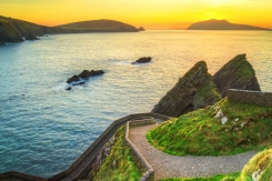 Sunset over Dingle Peninsula, Kerry