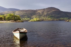 Upper Lake in Killarney's National Park, Kerry.