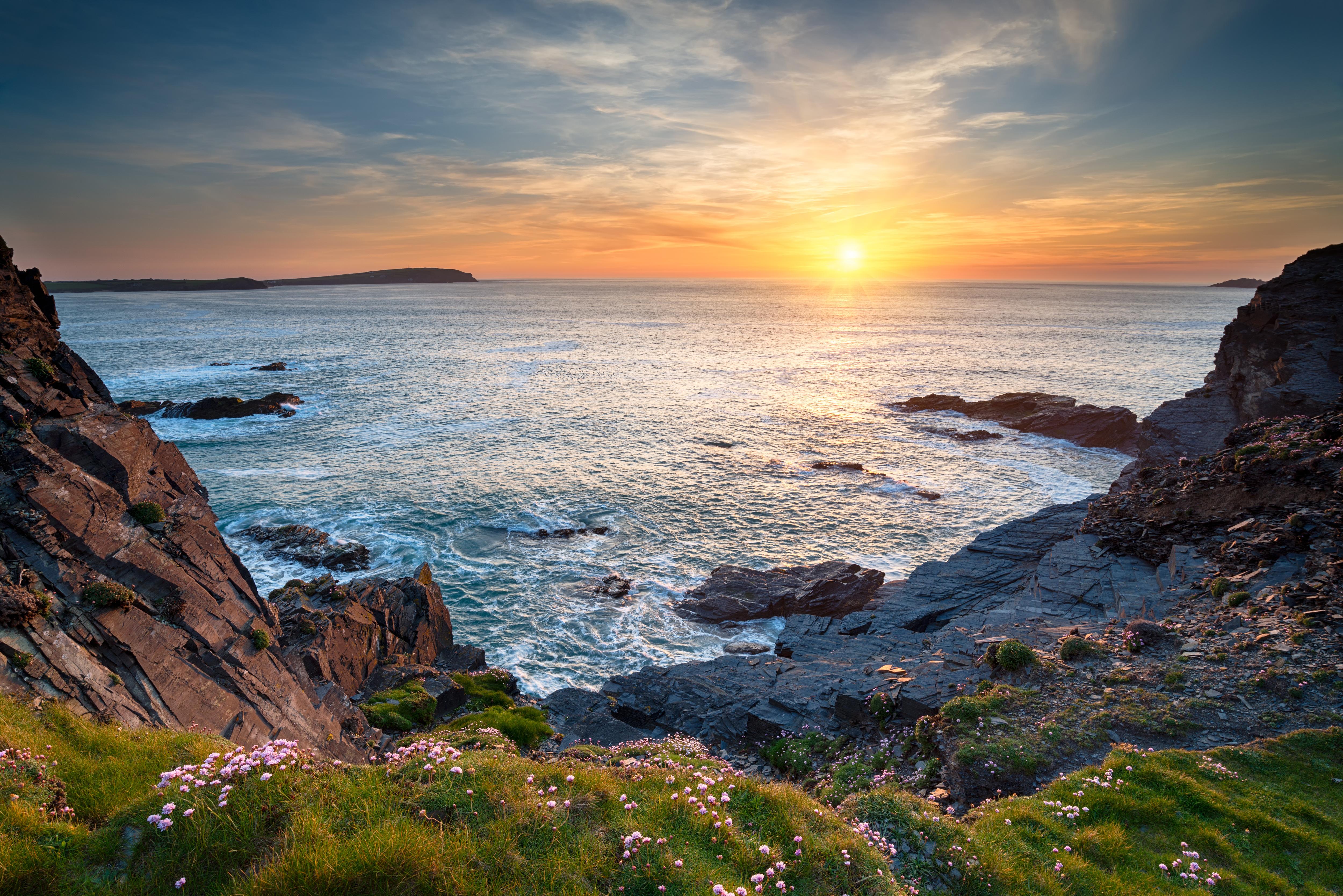 Sunset At Longcarrow Cove Inspiration