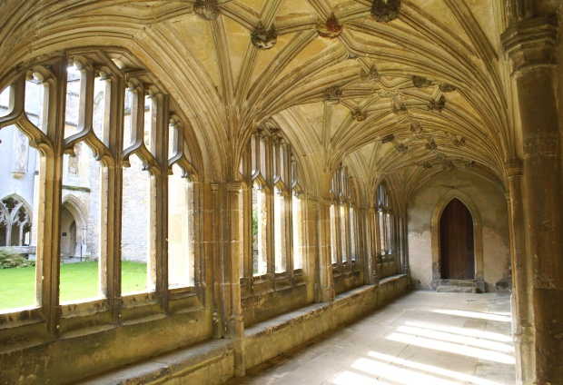 Lacock Abbey: Wolf Hall's exterior