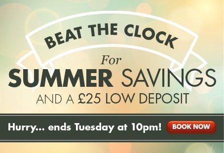 BST Summer weekend sale promo