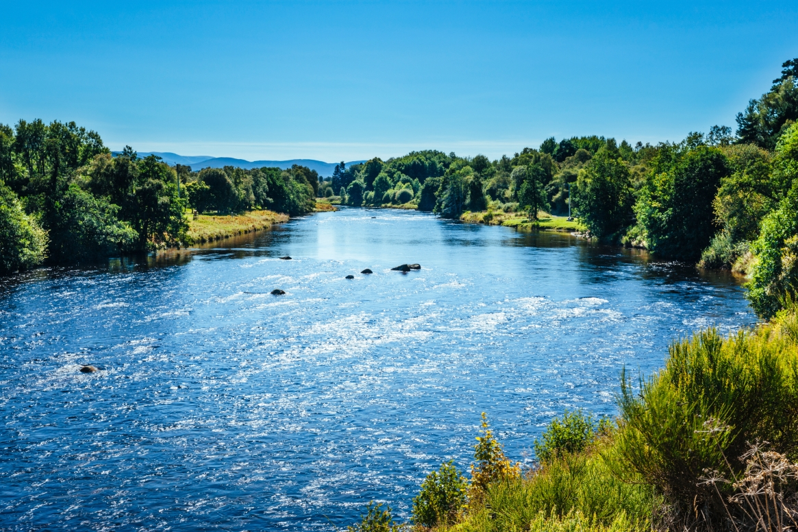 River Spey: perfect for rafting