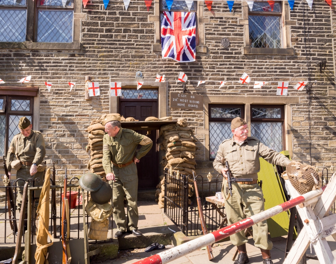 Haworth 1940s festival