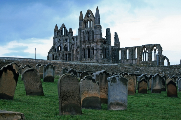 Whitby Abbey: Where else would Dracula stay?