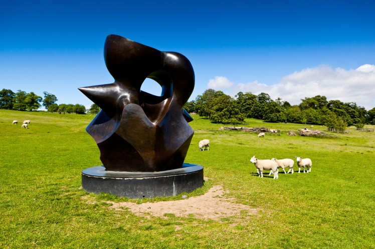 Admire the work of Henry Moore