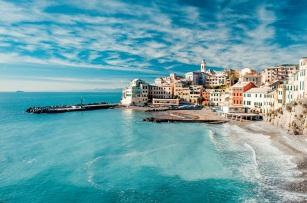 View of Bogliasco, Liguria