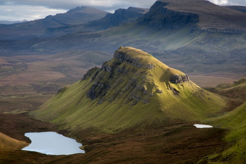 Loch Cleat and the Trotternish Ridge