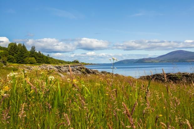 Kintyre Island Costline