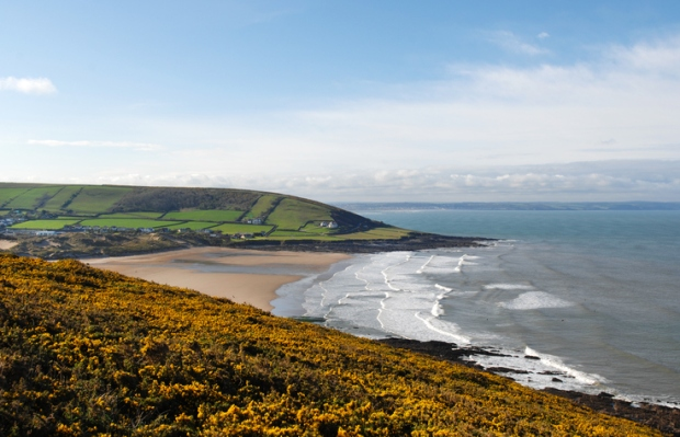 Croyde Bay Devon UK
