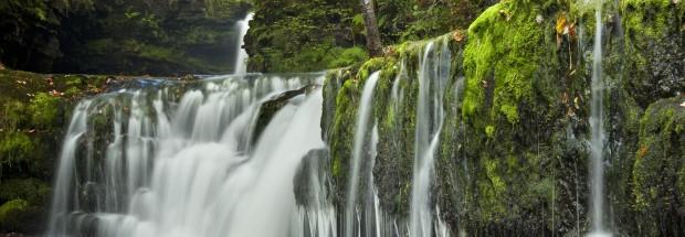 Lower Sgwd Ddwli falls