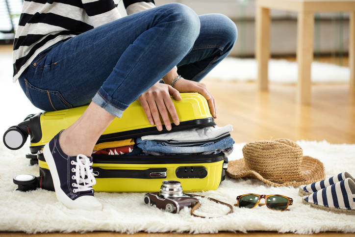 Cottage holiday packing list