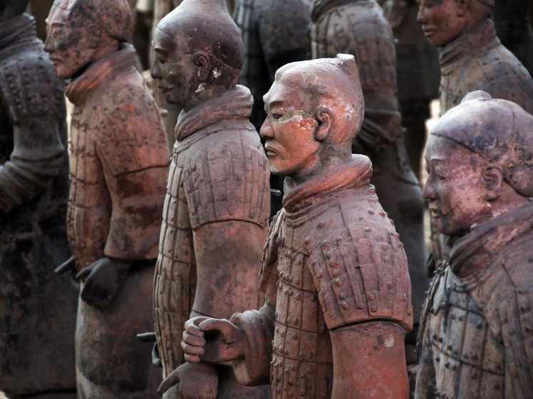 Terracotta Army of China as famous as Mummy of Egypt