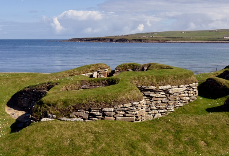 Skara Brae on the Bay of Skaill