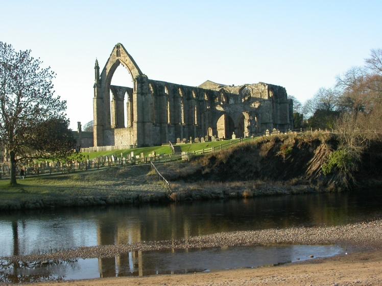 Bolton Abbey. Yorkshire, England