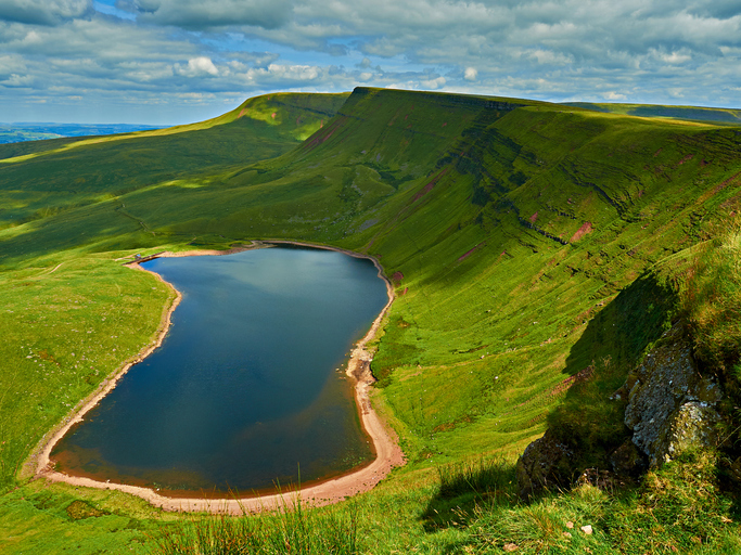 Llyn-y-Fan Fach - The Black Mountain