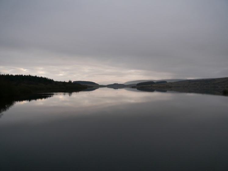 Stocks Reservoir, at the head of the Hodder Valley, Forest of Bowland
